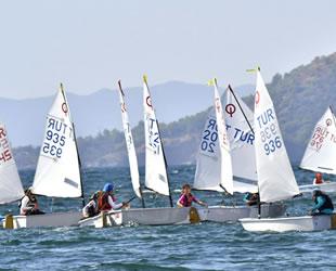 TYF Optimist Denizkızı Kupası Yarışları sona erdi
