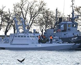 Rusya, Ukrayna'nın askeri gemilerini iade edecek