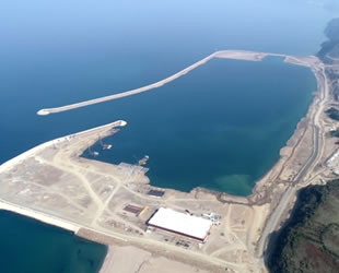 Filyos Limanı inşaasının yüzde 80'i tamamlandı