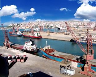 Çelebi Bandırma Limanı'ndan 8 ayda 584 bin 834 ton ihracat gerçekleşti