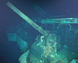 Pasifik'te II. Dünya Savaşı'ndan kalma uçak gemisi batığı bulundu