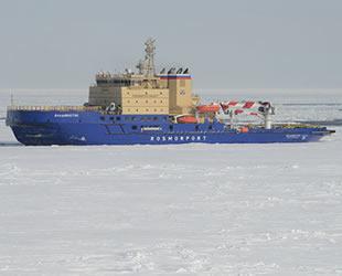 'Tor' isimli Rus buzkıran gemisi, Norveç'te yardım sinyali gönderdi