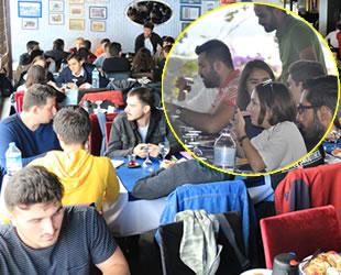DÖDER, denizci öğrencilerle kahvaltıda bir araya geldi