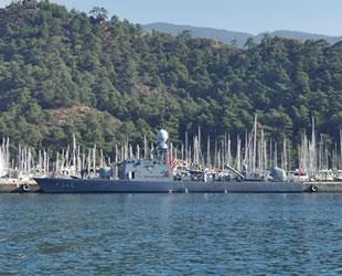 Askeri gemiler, Marmaris'te vatandaşlara kapılarını açtı