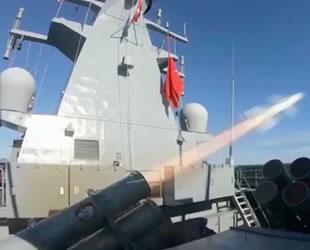 Deniz seyir füzesi Atmaca, TCG Kınalıada gemisi ile test edildi