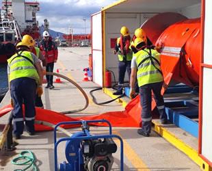 UZMAR, SOCAR Terminali'nde acil müdahale tatbikatı gerçekleştirdi