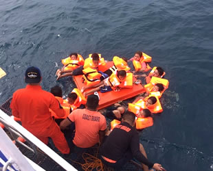 'MV Siargao Princess' isimli tekne alabora oldu: 63 kişi kurtarıldı