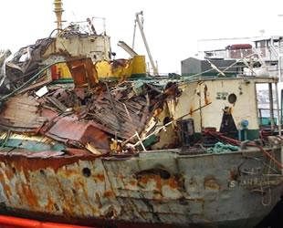 Hurda gemilerden ekonomiye 180 milyon dolar katkı sağlandı