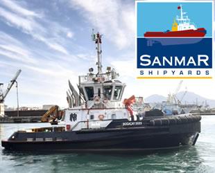 Sanmar'ın çok satan römorkörünün yeni versiyonunun ilki İtalyanlar'a gidiyor