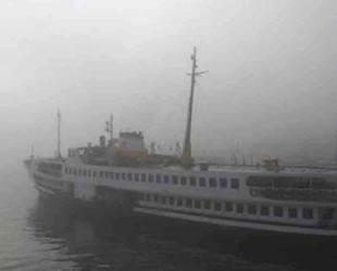 Şehir Hatları seferleri yoğun sis nedeniyle iptal edildi