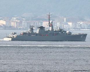 'Drazki' isimli Bulgar askeri gemisi, Çanakkale Boğazı'ndan geçti