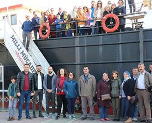 Bandırma Gemi Müzesi'nde ara tatil yoğunluğu yaşanıyor
