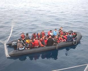 Ege Denizi'nde 11 ayda 55 bin düzensiz göçmen yakalandı