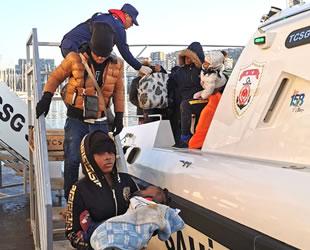 Kuşadası ve Didim'de 111 düzensiz göçmen yakalandı