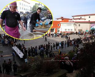 RTEÜ'de düzenlenen Hamsi Festivali'nde 1 ton hamsi tüketildi