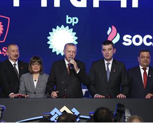 TANAP Avrupa Bağlantısı Açılış Töreni gerçekleştirildi