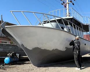 Van'da üretilen tekne ve yatlara Ege ile Akdeniz'den de talep var