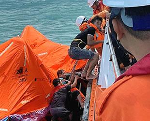'Toan Phat 68' isimli kargo gemisi battı: 1 ölü
