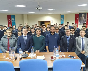 RTEÜ Turgut Kıran Denizcilik Fakültesi, Deniz Trafik Operatörleri Derneği'ni ağırladı
