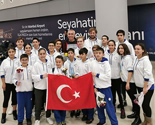 Türk sporcular, 'paletli yüzme'de 11 madalya kazandı