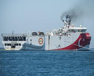 MTA Oruç Reis Araştırma Gemisi için takip gemisi hizmeti alınacak