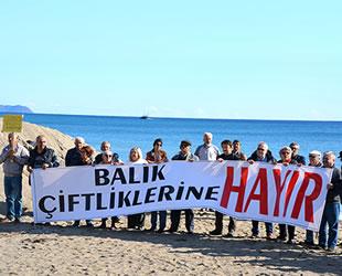 Anamur'da 'Balık Çiftliklerine Hayır Eylemi' düzenlendi