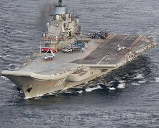 Rusya'nın uçak gemisinde çıkan yangında ölenlerin sayısı 2'ye yükseldi