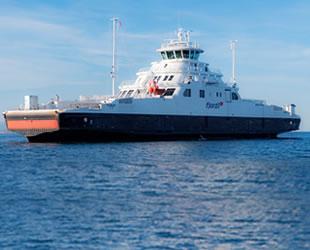 'Florøy' isimli gemi, ilk deneme seyrini gerçekleştirdi