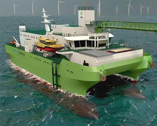 Cemre Tersanesi, DEME'ye rüzgar türbini destek gemisi inşa ediyor