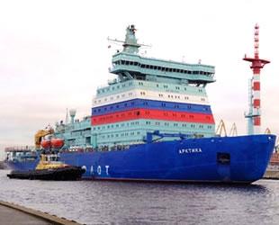 'Arktika' nükleer buzkıran gemisi, sürüş testlerini başarıyla tamamladı