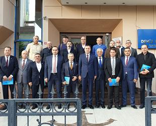 İskenderun Körfezi Dalış Merkezi Projesi istişare toplantısı yapıldı