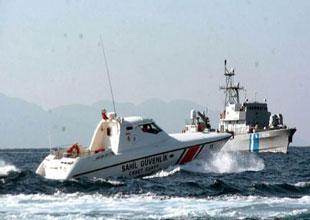 Türk ve Yunan SGK botları Ege'de çatıştı