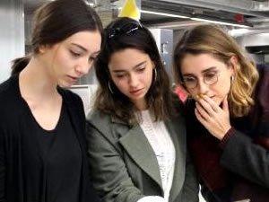 İç mimarlık öğrencileri İzmir Körfezi'ni temizleyen taşıt tasarladı