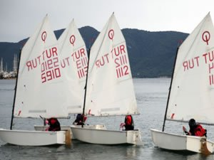 1. Mandalin Kupası Yelken Yarışları, Bodrum'da başladı