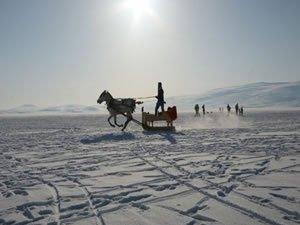 """""""Çıldır Kristal Göl Uluslararası Kış Şöleni"""" için hazırlıklar tamam"""