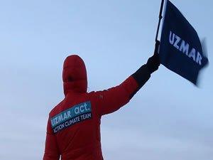 UZMAR ACT çevre için buzullara gidiyor