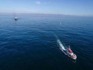 Kilyos'taki arama çalışmalarına 30 balıkçı teknesi de katıldı