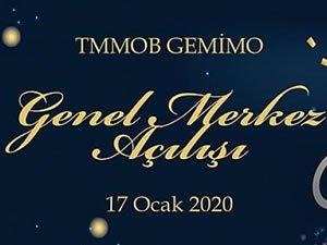 TMMOB GEMİMO Genel Merkezi açılıyor