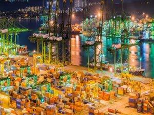 Singapur Limanı 37,2 milyon TEU ile rekor kırdı