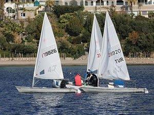 Bodrum'da yelken eğitimleri büyük ilgi görüyor