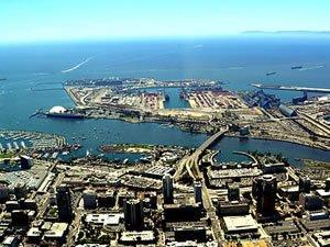 ABD-Çin ticaret savaşı Long Beach Limanını vurdu!