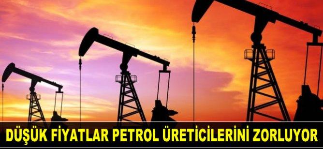 Düşük fiyatlar petrol üreticilerini üretimi daha da kısmaya zorluyor