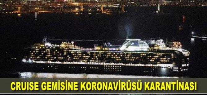 Cruise gemisine koronavirüsü karantinası!