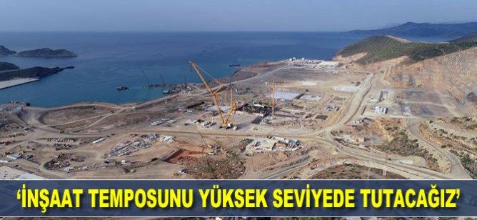 Akkuyu Nükleer AŞ Genel Müdürü Zoteeva: İnşaat temposunu yüksek seviyede tutacağız