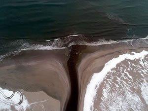 İğneada'da deniz ve göl yeniden birleşti