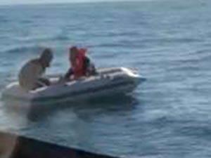 Marmara Denizi'nde tekne battı, iki kişi ölümden döndü