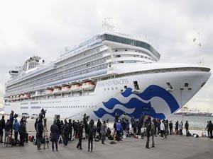 Japonya'daki karantina gemisinde 40 kişide daha koronavirüsü tespit edildi