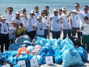 Aras Kargo, 4 yıldır Türkiye'nin sahillerini temizliyor