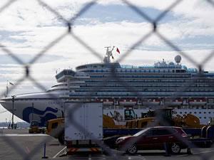 Japonya'daki karantina gemisinde 67 kişide daha 'Kovid-19' tespit edildi