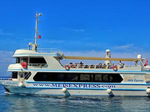 Kaş-Meis adasına deniz seferleri, koronavirüs nedeniyle durduruldu